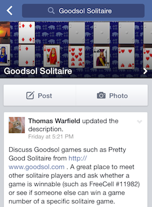 Goodsol Solitaire Group