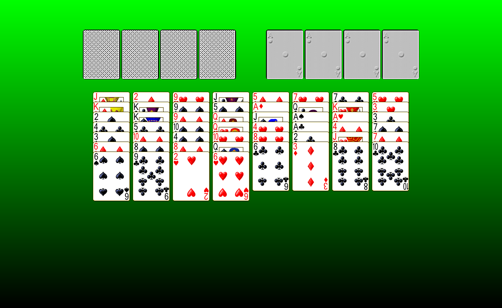 golf solitaire games
