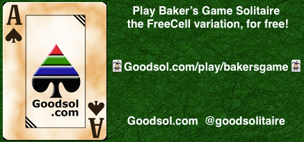 Play Baker's Game Solitaire Online