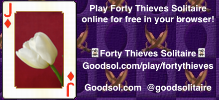Play Forty Thieves Solitaire Online