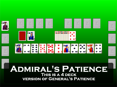 Admiral's Patience