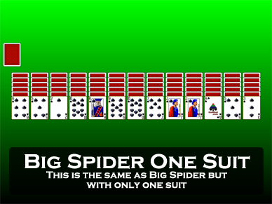 Big Spider One Suit and Two Suits