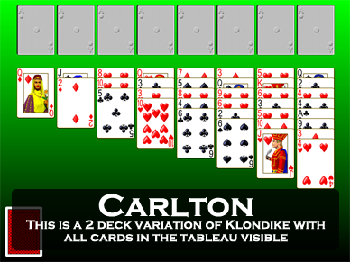Play Klondike Type Solitaire Games