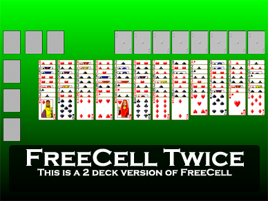 FreeCell Twice