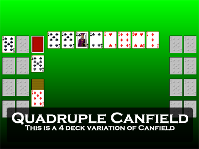 Quadruple Canfield