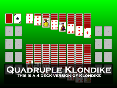 Quadruple Klondike