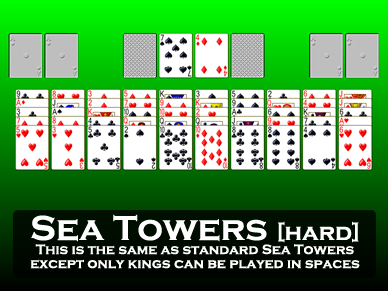 Sea Towers [hard]