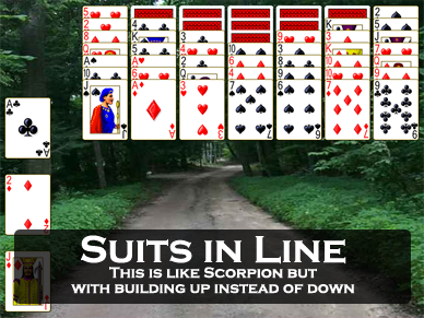 Suits in Line